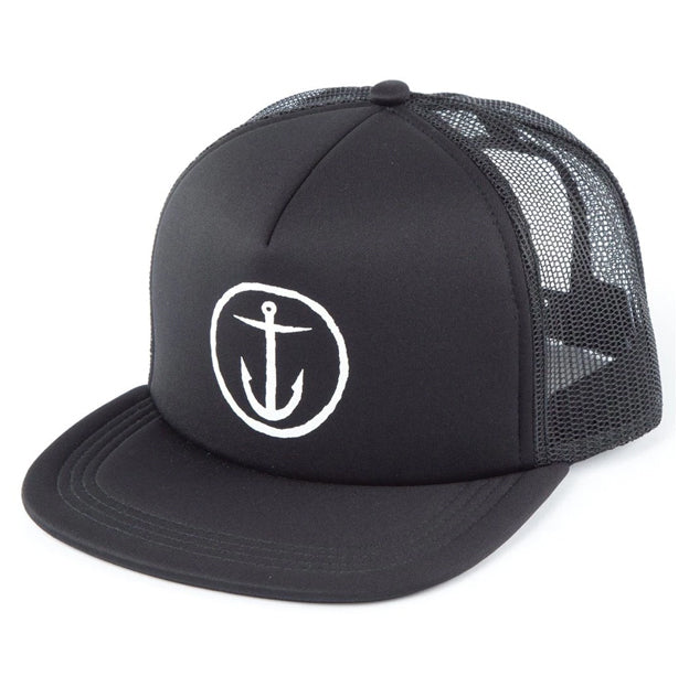 OG ANCHOR TRUCKER HAT BLACK