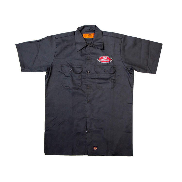 NOSERIDER WORK SHIRT GREY