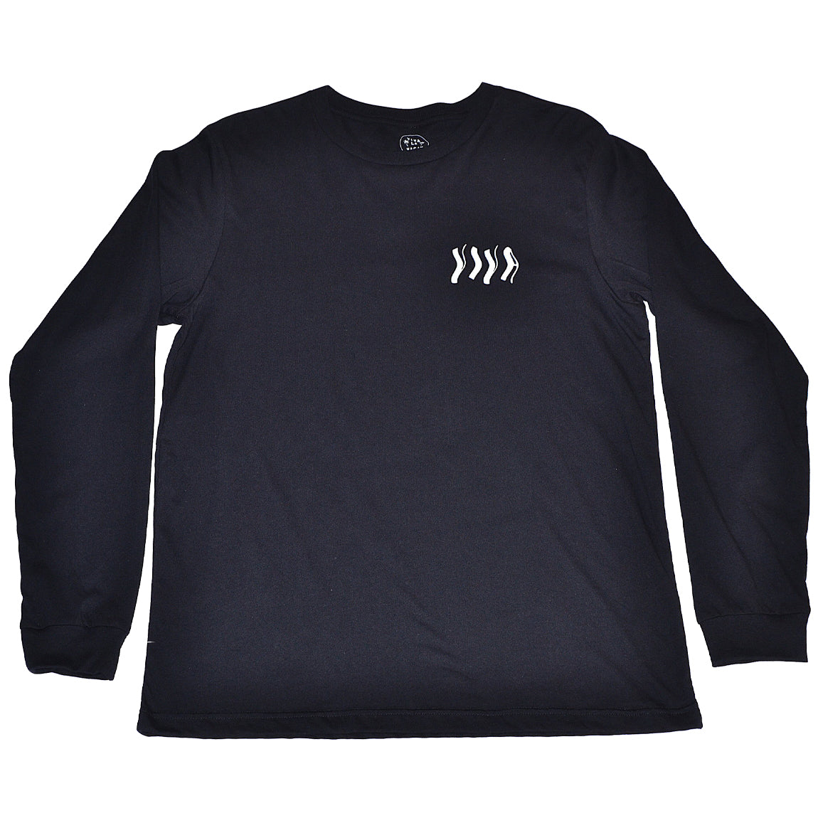 TRIPPY SURF CLUB L/S TEE BLACK