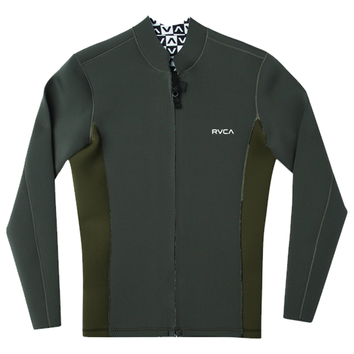 ANCELL 2MM FRONT ZIP JACKET PIRATE BLACK