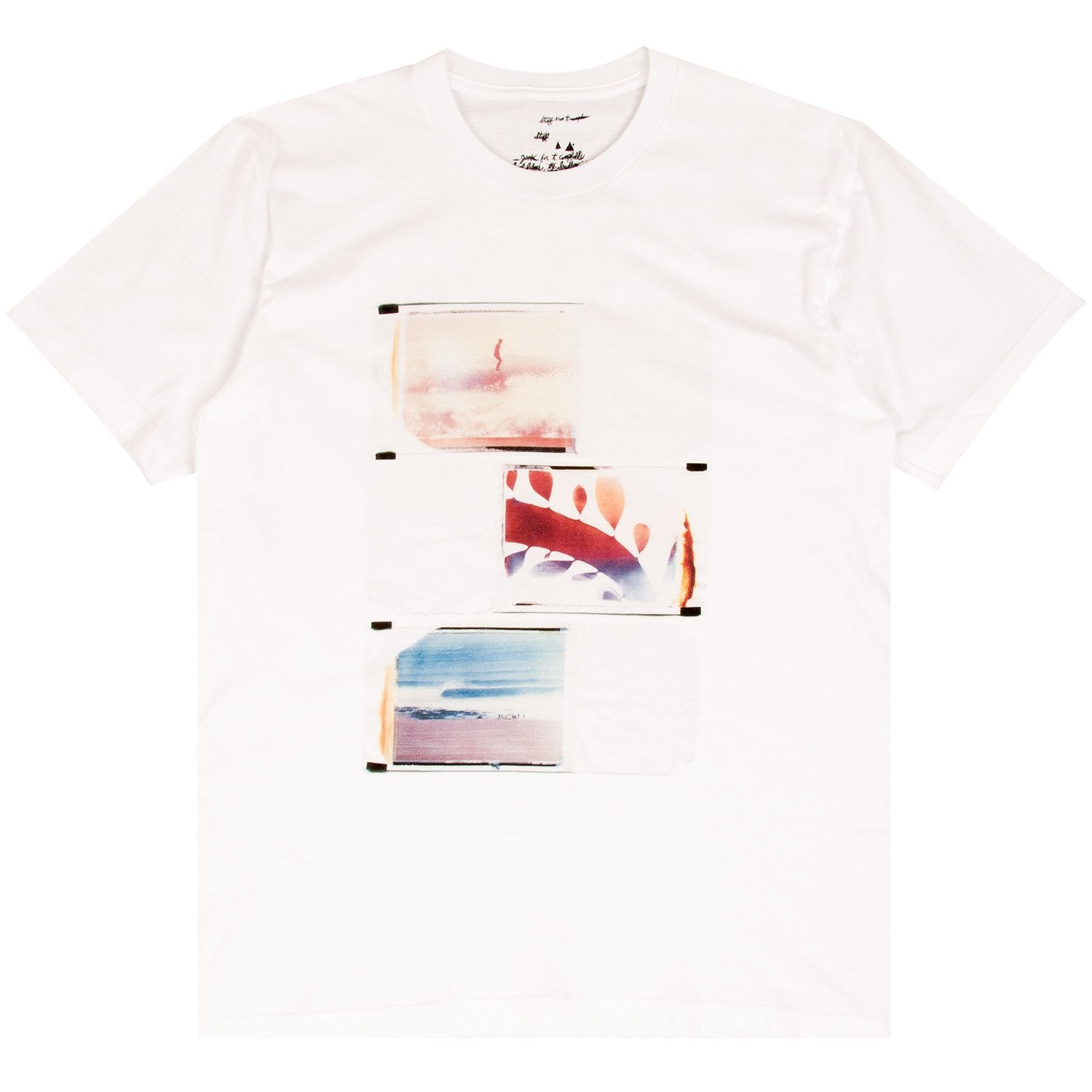THOMAS CAMPBELL POLAROIDS TEE WHITE