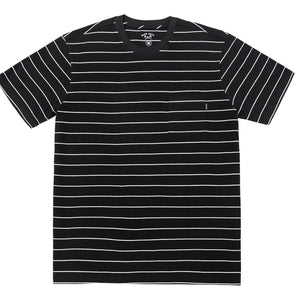 MANTIS KNIT TEE BLACK/WHITE