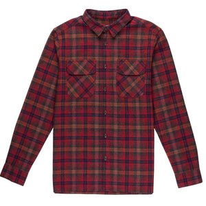 OVERWINTER CLASSIC FLANNEL RED