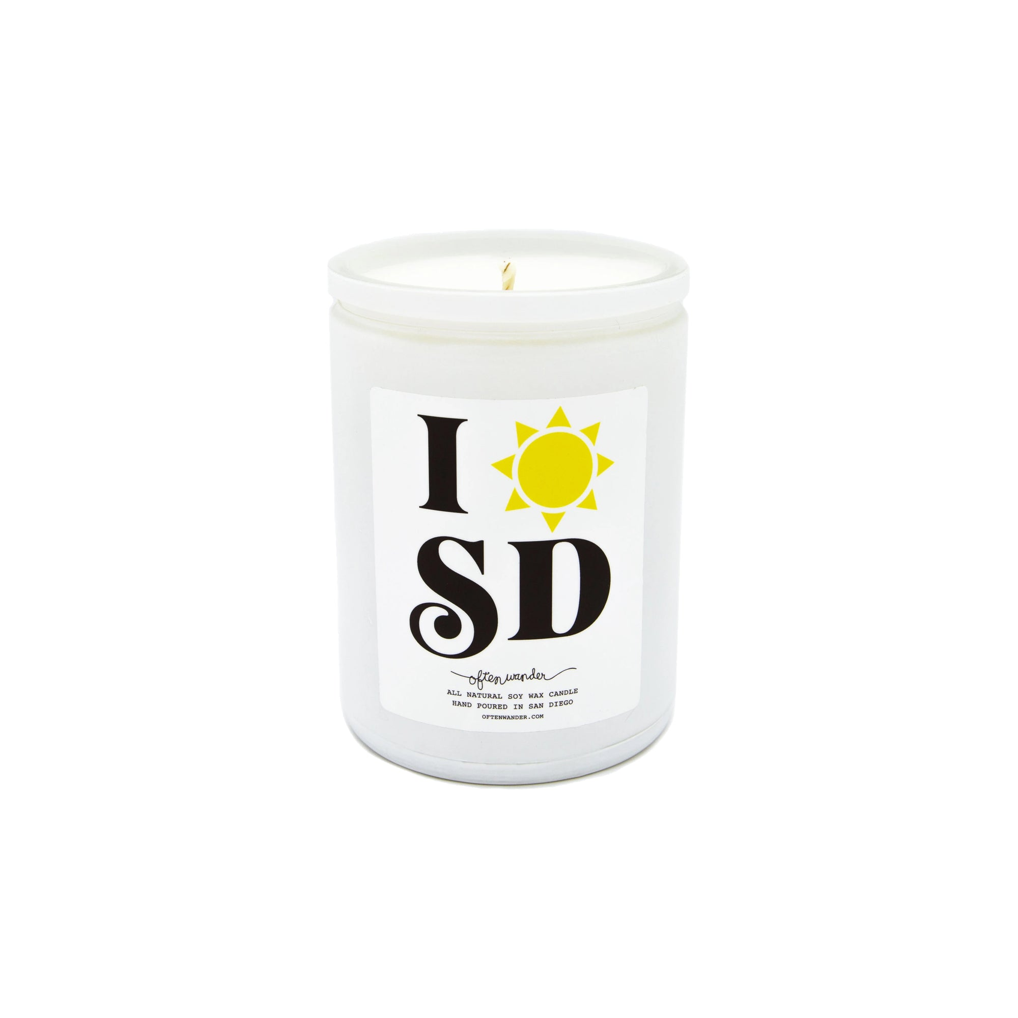 SAN DIEGO CANDLE 12OZ