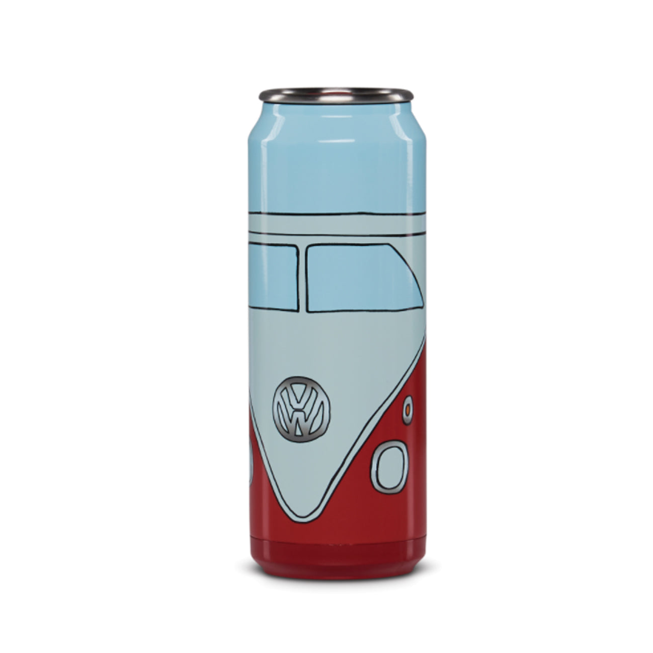 RED VW CAN 16 OZ