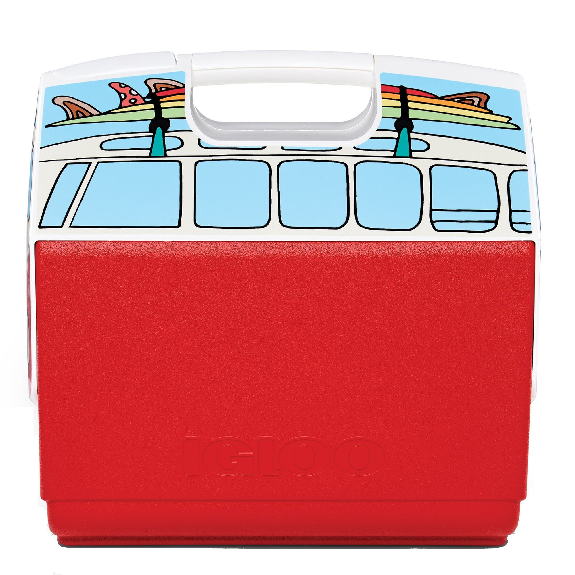 ELITE SURF VAN COOLER RED