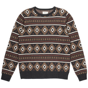 DESERT JAZZ KNIT CHARCOAL