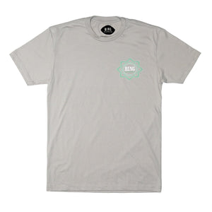 MANDALA PREMIUM TEE LIGHT GREY