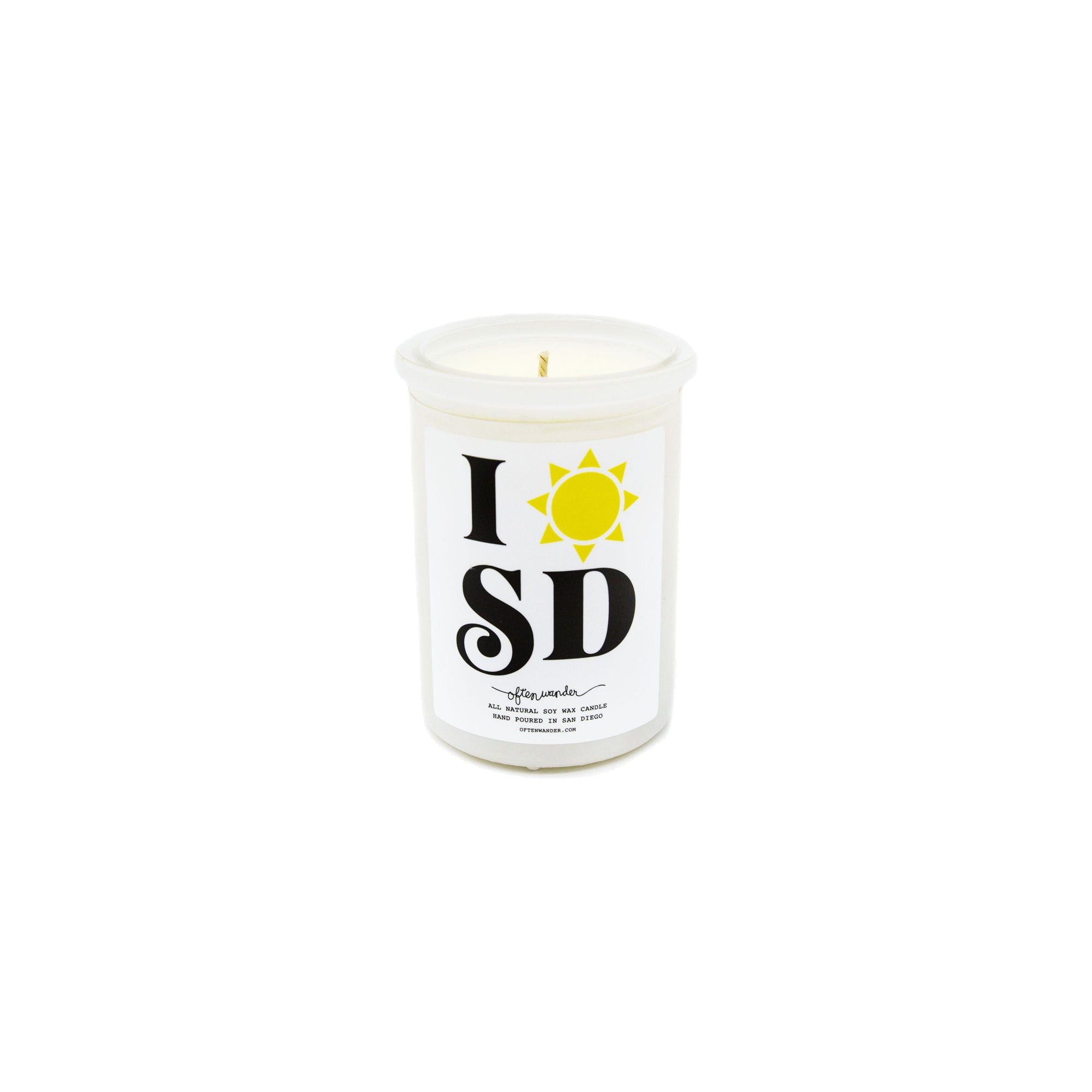 SAN DIEGO CANDLE 6OZ