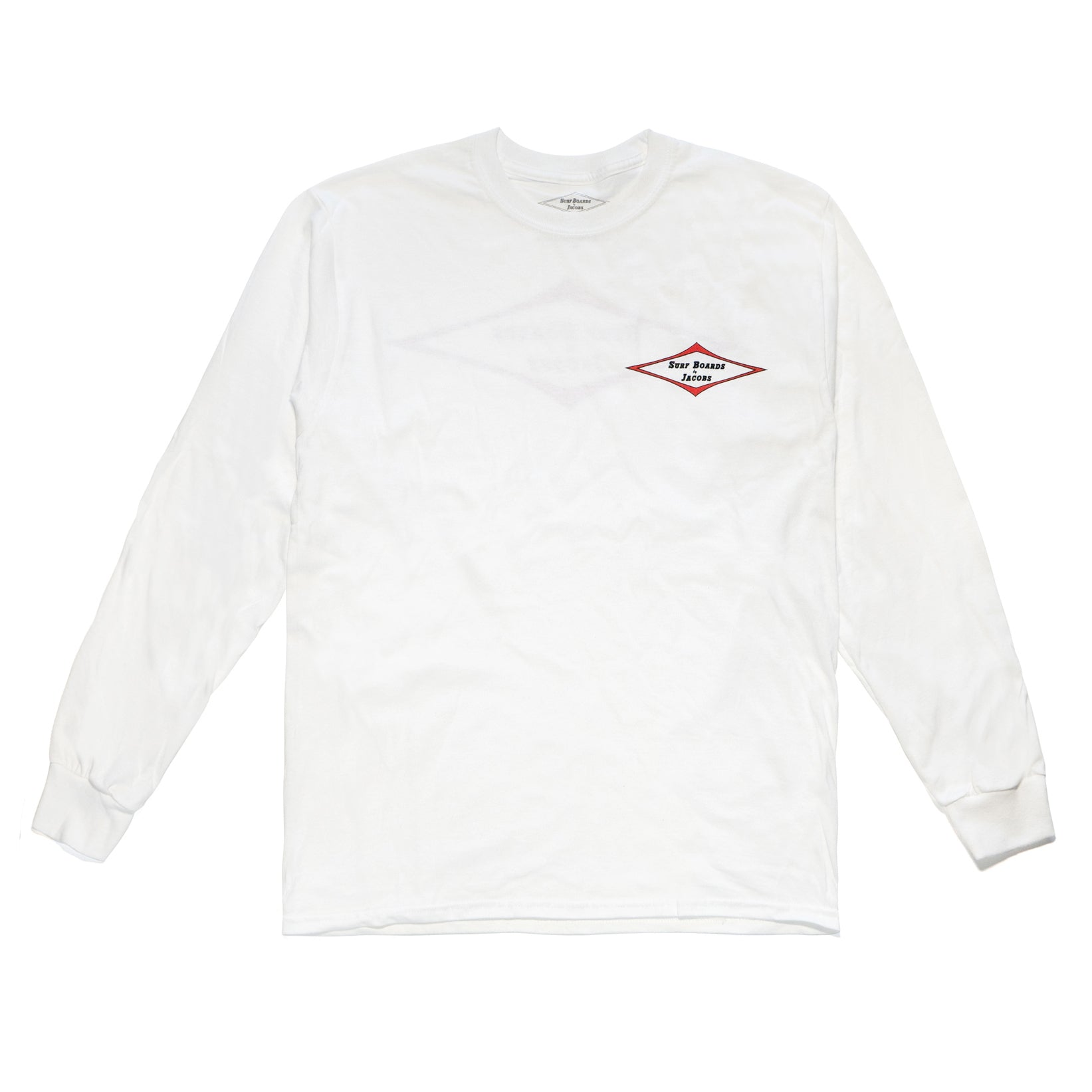 JACOBS STANDARD LONG SLEEVE TEE WHITE