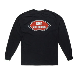 NOSERIDER CLASSIC LONG SLEEVE TEE BLACK