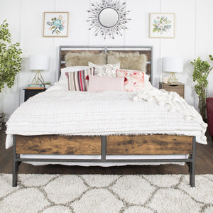 Arcadia Bed in Rustic Oak