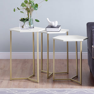 Hex Nesting Tables