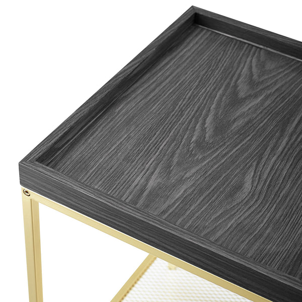 Square Tray Side Table
