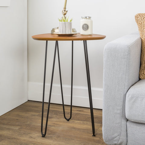 "Hairpin Leg 18"" Side Table"