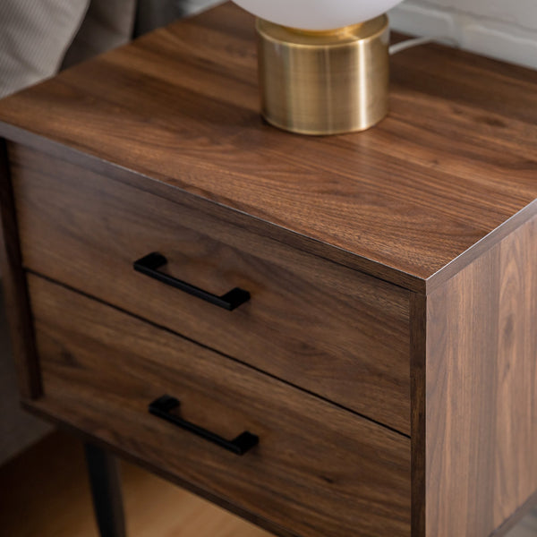 Olivia Side Table in Dark Walnut