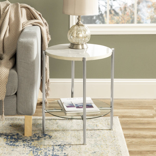Simone Round Side Table