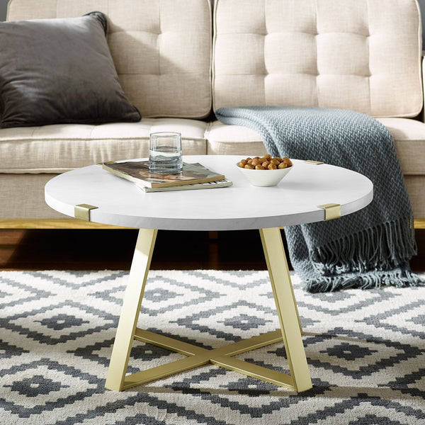 Metal Wrap Coffee Table