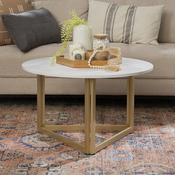 Triangle Base Coffee Table