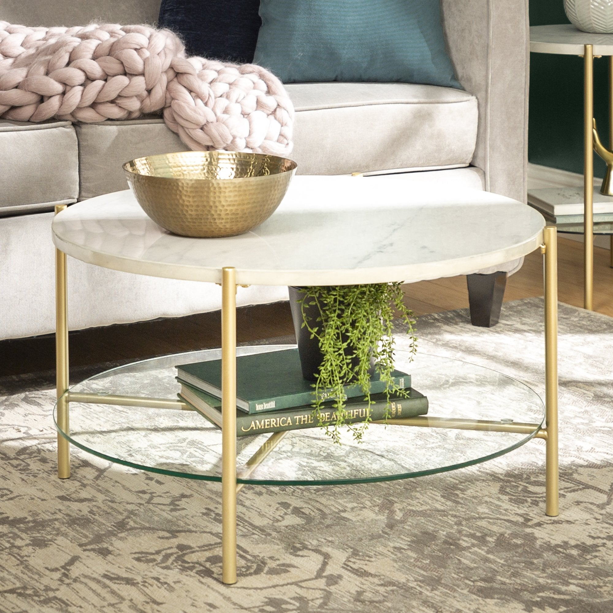 Simone Round Coffee Table