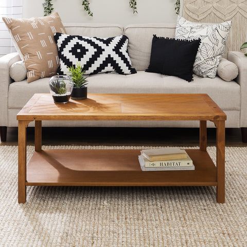 Chevron Coffee Table