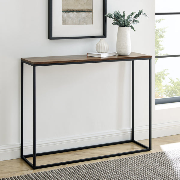Lowell Open Box Entry Table