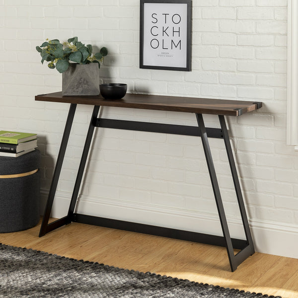 Metal Wrap Entry Table
