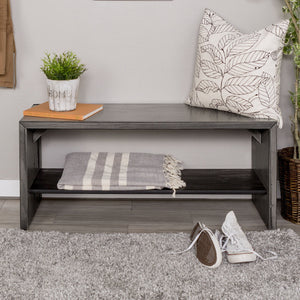 "Alpine Rustic 42"" Entry Bench"