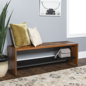 "Alpine Rustic 52"" Entry Bench"