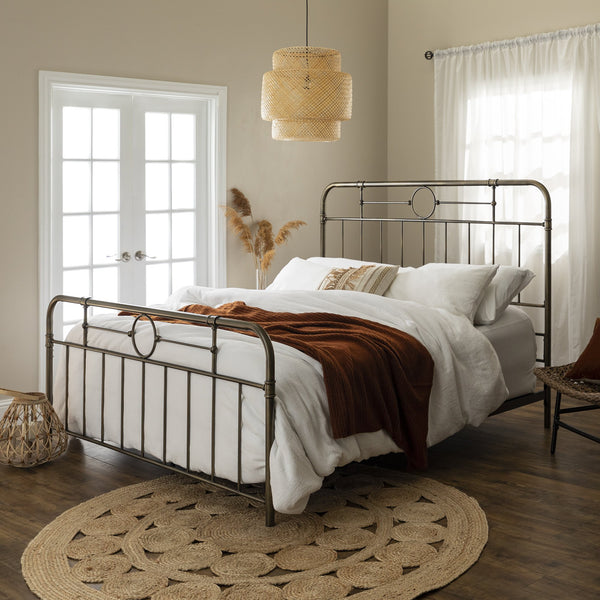 Antiqua Bronze King Bed