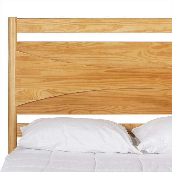 Atticus Solid Wood Queen Bed
