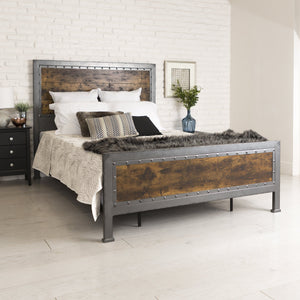 Rustic Home Queen Bed