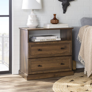 Clyde Classic 2 Drawer End Table