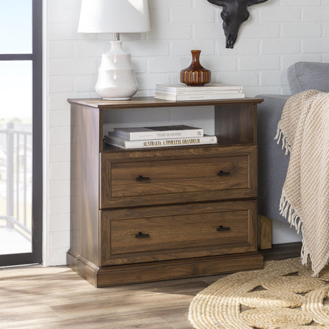Clyde 2-Drawer Nightstand