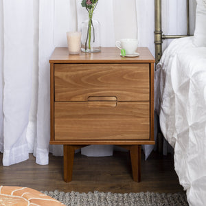 Sloane 2-Drawer Solid Wood Nightstand