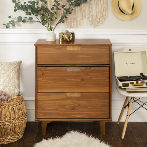 Sloane 3-Drawer Solid Wood Dresser