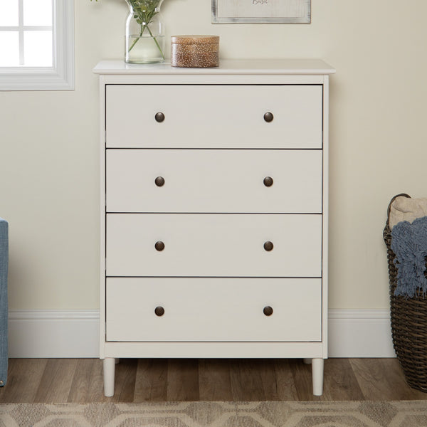 Spencer Solid Wood 4 Drawer Dresser
