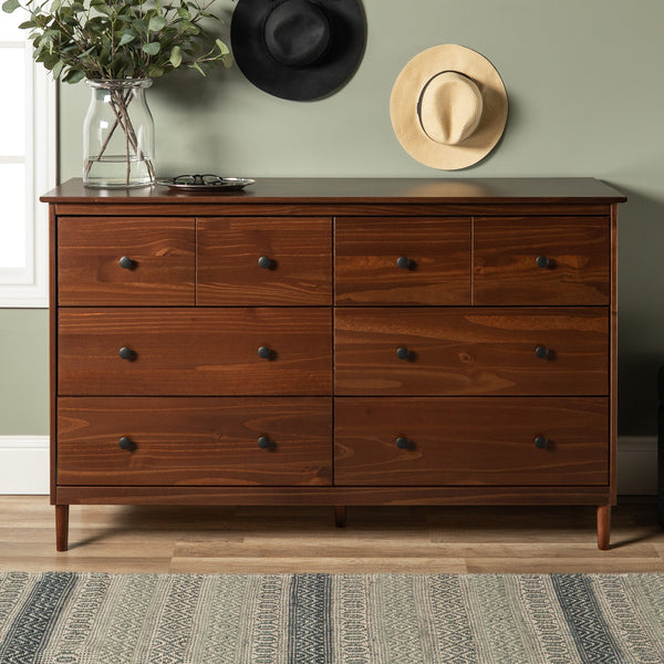 Spencer Solid Wood 6 Drawer Dresser