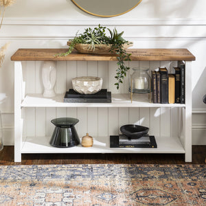 Lucas Farmhouse Storage Console
