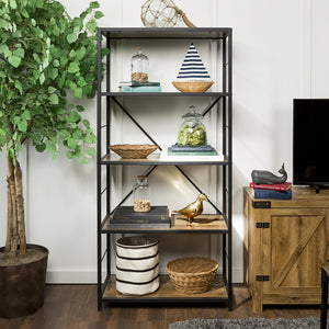 Rustic Home Bookshelf
