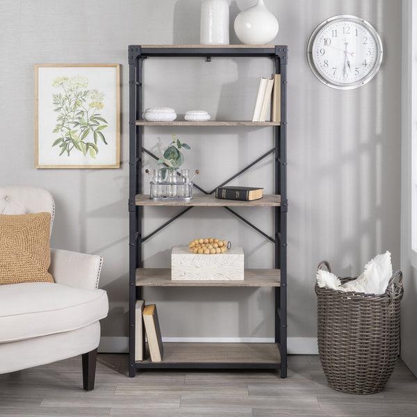 Angle Iron Urban Industrial Bookshelf