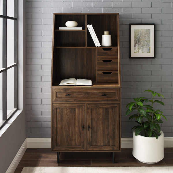 Belfast Storage Desk and Hutch