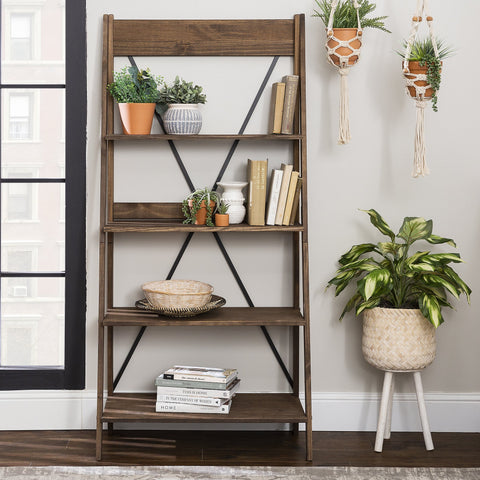 Frankie Solid Wood Bookshelf