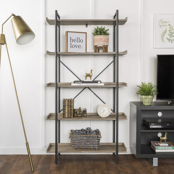 Urban Pipe Bookshelf