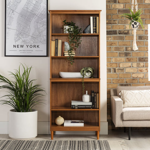 Spencer Wood Bookcase