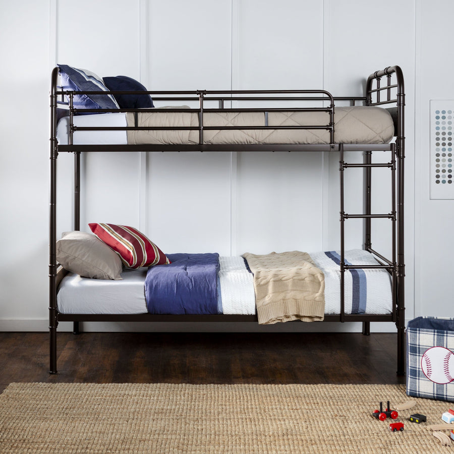 Rustic Signature Twin Bunk Bed