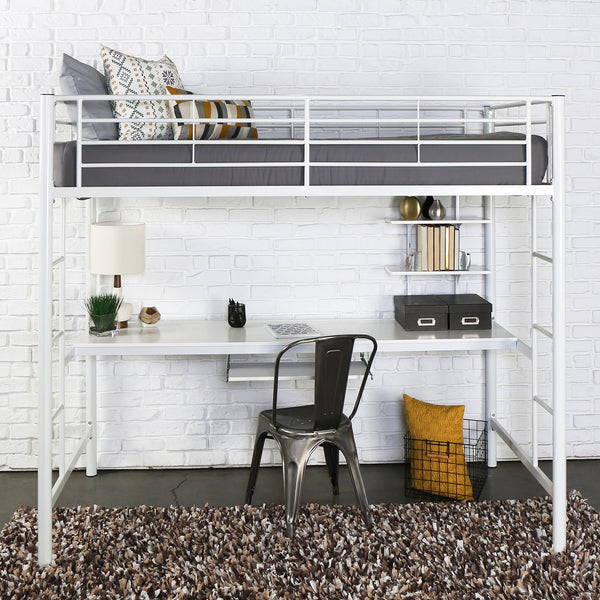 Sunset Twin over Workstation Bunk Bed