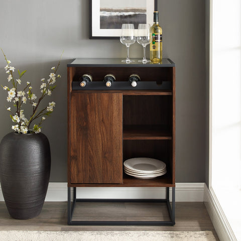 William Glass Top Bar Cabinet