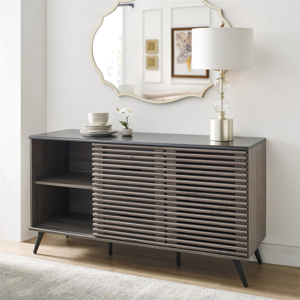 Havana Sliding Door Drawer Sideboard