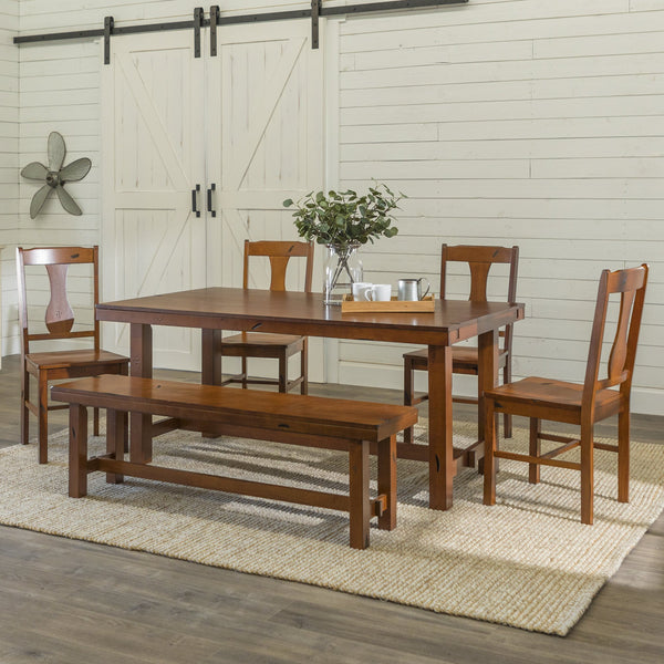 Huntsman Wood Dining Set